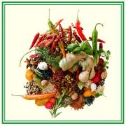 Сушеные овощи, травы и ягоды