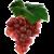 Красный виноград (чуть с кислинкой)